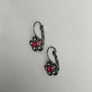 Jewelry - Read Flower Earrings